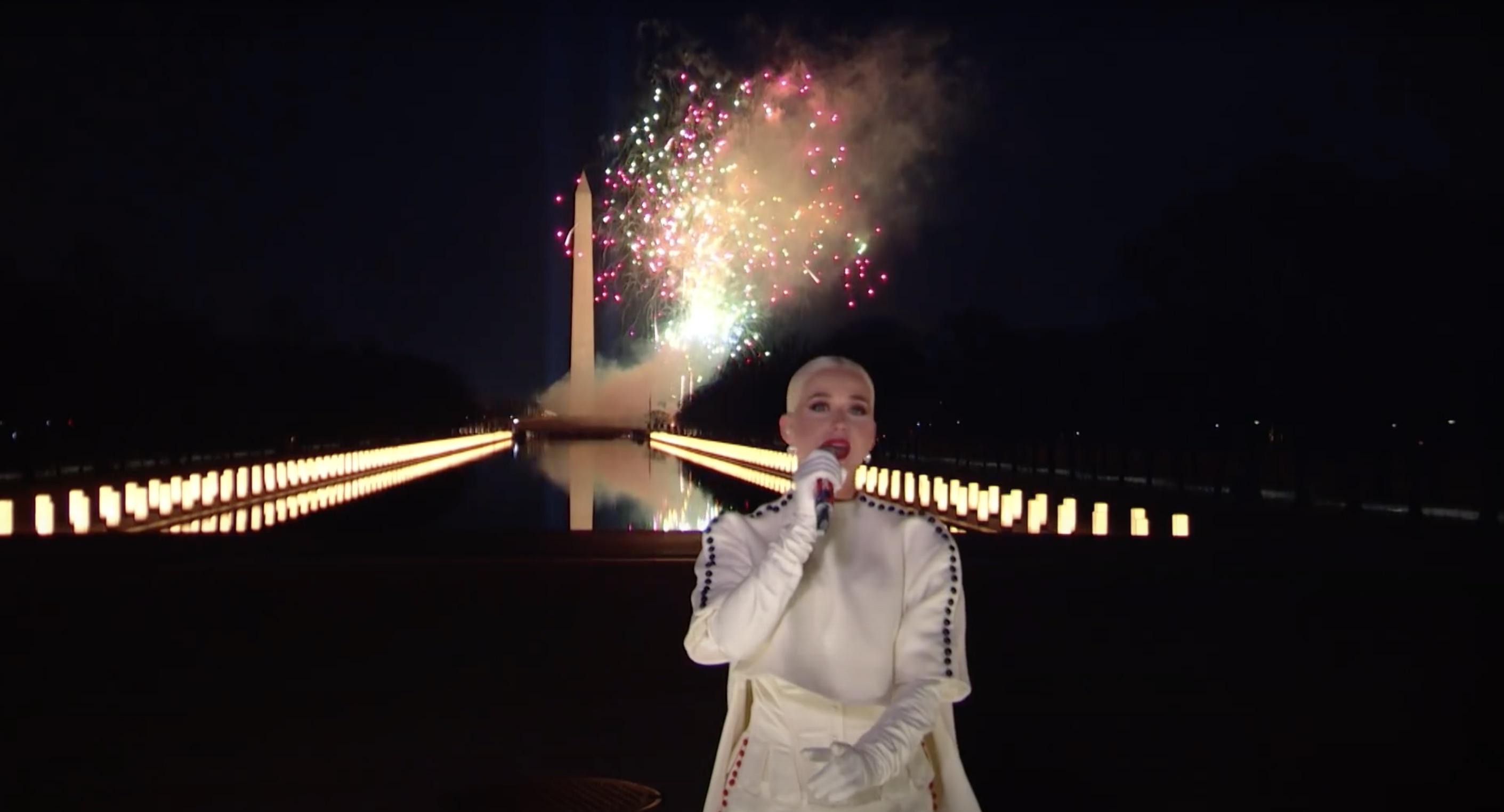 Katy Perry - Fireworks - Joe Biden -