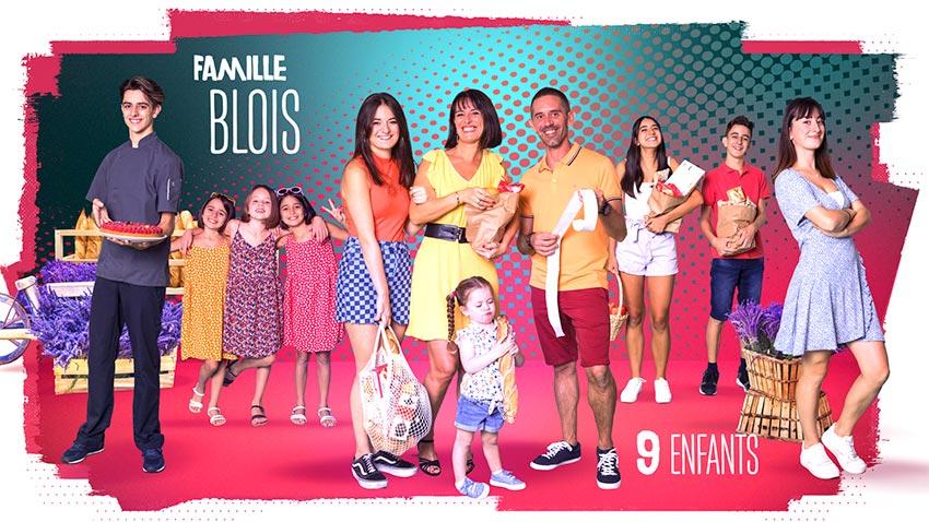 familles nombreuses la vie en xxl - saison 3 - TF1 - familles nombreuses - famille blois -