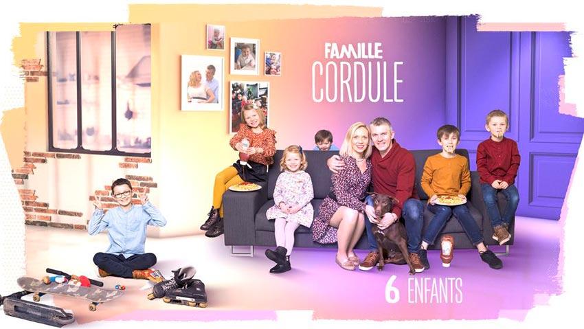 familles nombreuses la vie en xxl - saison 3 - TF1 - familles nombreuses - famille cordule -