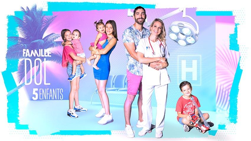 familles nombreuses la vie en xxl - saison 3 - TF1 - familles nombreuses - famille Dol -