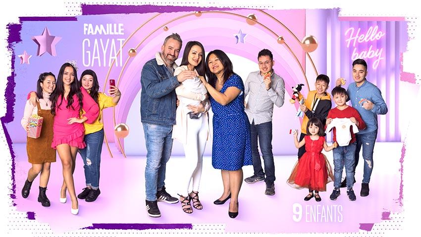 familles nombreuses la vie en xxl - saison 3 - TF1 - familles nombreuses - famille Gayat -