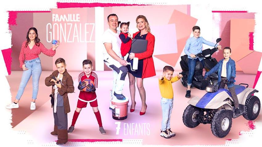 familles nombreuses la vie en xxl - saison 3 - TF1 - familles nombreuses - famille Gonzalez -