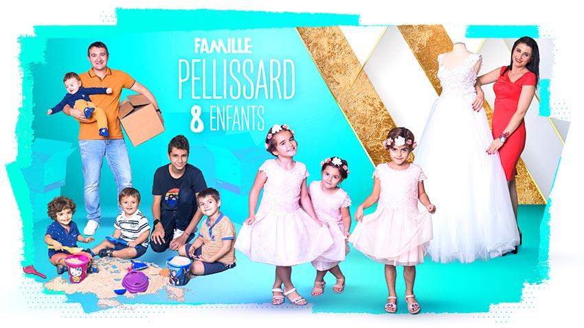 familles nombreuses la vie en xxl - saison 3 - TF1 - familles nombreuses - famille Pelissard -