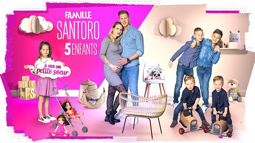 familles nombreuses la vie en xxl - saison 3 - TF1 - familles nombreuses - famille Santoro -