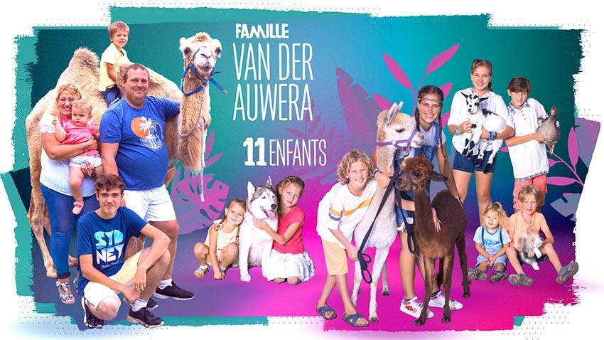 familles nombreuses la vie en xxl - saison 3 - TF1 - familles nombreuses - famille van der auwera -