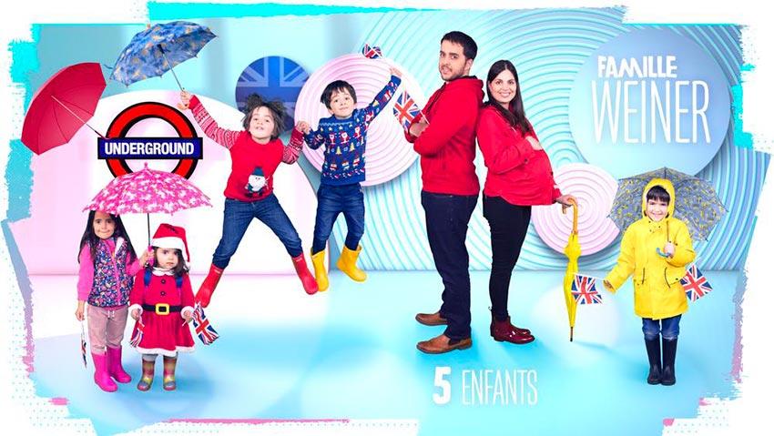 familles nombreuses la vie en xxl - saison 3 - TF1 - familles nombreuses - famille Weiner -