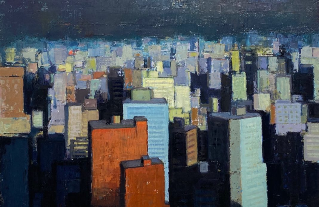 Miguel Nunez - peintre - expo - exposition - syma news - florence yeremian - uruguay - montevideo - buenos aire - huile - art - arte - kunst - galerie - bastille - exhibition - ville - town - cité - buildings