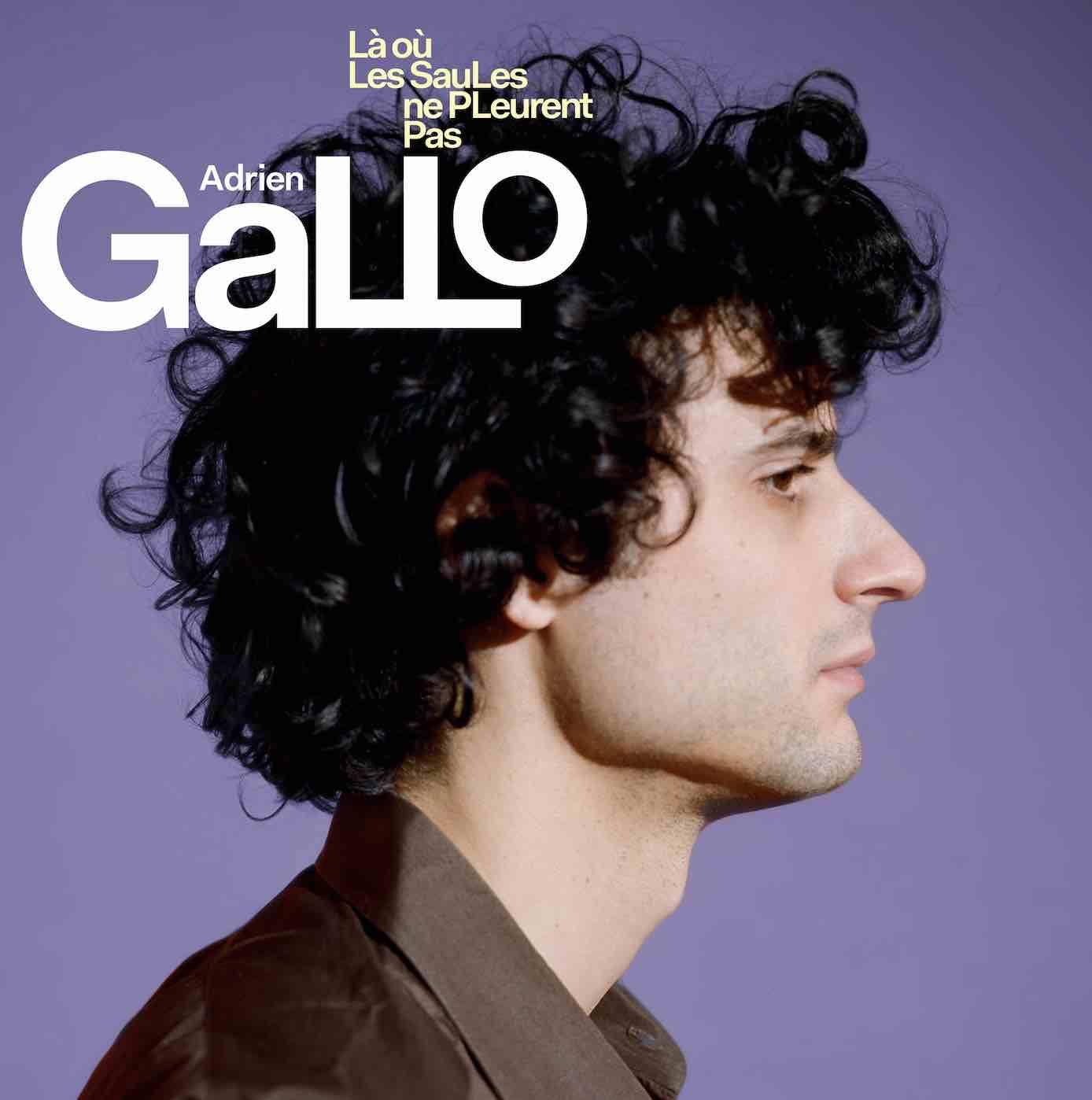 Adrien Gallo - Là où les saules ne pleurent pas album
