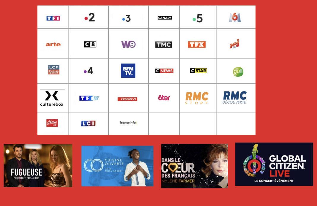 programme tv - sélection tv - Fugueuse - cuisine ouverte - global citizen live -